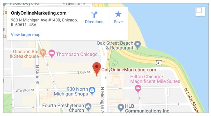 onlyonlinemarketing.com location